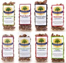 8-Pack Flavor Variety of Roasted Almonds Sohnrey Family Foods Eight 1.5 oz Packs
