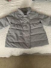 Baby Gap Girls Grey Winter Coat 18-24 Months