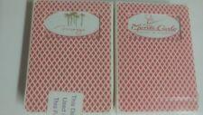 2 Decks MIRAGE & MONTE CARLO Casino SEALED Playing Cards BEE ~Vintage VEGAS