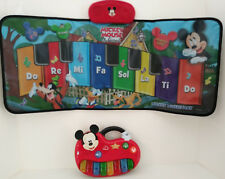 Mickey Mouse Keyboard Music Mat Piano Sounds Disney Play Baby Toddler Learning