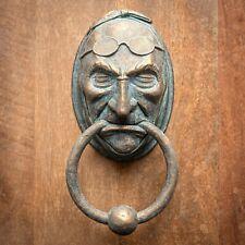 Jacob Marley Door Knocker Sculpture - Faux Metal - A Christmas Carol - Dickens