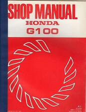 1984 HONDA ENGINE G100 SHOP SERVICE MANUAL (166)
