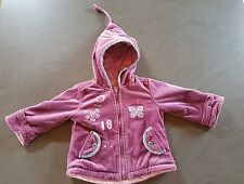 manteau fille 18 mois violet