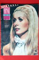 CATHERINE DENEUVE ON COVER 1967 RARE EXYU MAGAZINE