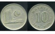 MALAISIE 10 sen 1973