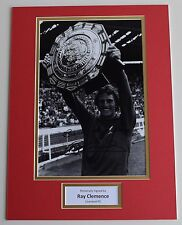 Ray Clemence SIGNED autograph 16x12 photo display Liverpool football AFTAL & COA