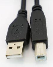 1.8m 2m USB A to B Printer Cable External HD Drive Lead PC Laptop to Printer