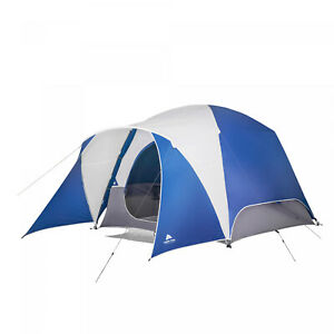 5 Person SUV Tent Dome Camping Tailgating Picnic Easy Set Up Ozark Trail Blue