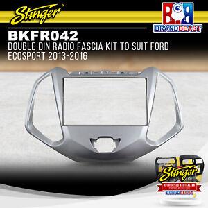 Stinger BKFR042 Double DIN Radio Fascia Kit To Suit Ford EcoSport 2013-2016