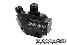 Improved Racing Oil Cooler Adapter 200F Thermostat, LS1 LS2 LS3 LS6 LS7, -10AN