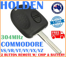 HOLDEN COMMODORE VS VR VT VX VY VZ 2 Button 304MHz Chip Remote Flip Key Case