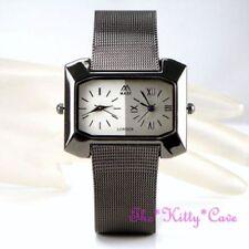 Relojes de pulsera de acero inoxidable de alarma