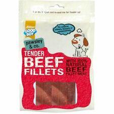 Good Boy Tender Natural Beef Fillets Treats Snack Reward for Dogs 90g Pack