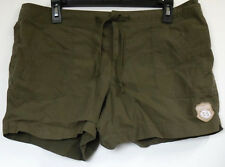 Counter Culture Olive Green Cotton/Nylon Ripstop Hiking Casual Shorts XL JR