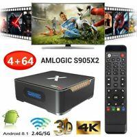 A95X MAX Smart Android 8.1 TV Box Amlogic 4GB / 64GB UHD BT4.2 HD Media Player