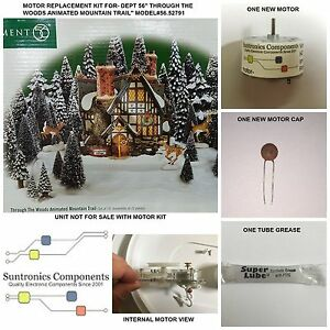 Dept 56 -Through The Woods Mountain Trail Model#56.52791 Replacement Motor Kit