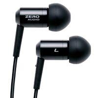 ZERO AUDIO ZH-BX500 BK DC In-Ear Headphones Black Dark Chrome from Japan