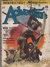 Adventure Magazine Pulp- Vol. 117 #2 June & Vol.118 #2 Dec 1947