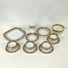 Royal Albert Crown China England Mixed Pieces Plates Cups Creamer #454