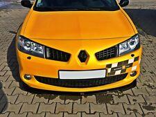 Cup Spoilerlippe schwarz Renault Megane 2 RS Lippe Spoiler Diffusor Ansatz Schwe