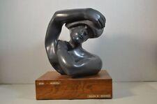 Helen Drucker Stone Modernist Sculpture Baba Grenada