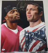 Chael Sonnen Signed UFC 16x20 Photo PSA/DNA COA Autograph Picture Anderson Silva