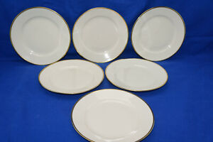 Seltman Johann Cream w/Gold Trim 1550 (6) Salad Plates, 7 5/8""