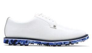$225 G/Fore Mens Camo Gallivanter Golf Shoes G4MS20EF02 - White / Blue Camo NEW