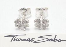 Thomas Sabo Damen Ohrstecker UVP-49,00 € 925er Silber Kleeblatt H1864-051-14