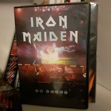 iron maiden dvd video live in italy 1992 new rare!!!!nasce region free