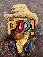 MR CLEVER ART SELF PORTRAIT PAINTING ON CANVAS vincent van gogh pop street art