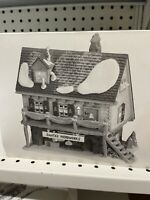 SANTA'S WOODWORKS # 56286  DEPARTMENT 56 RETIRED NORTH POLE SERIES