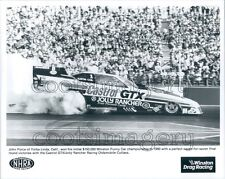 1990 John Force Racing Auto Press Photo
