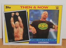 WWE - HERITAGE 2015 - STONE COLD STEVE AUSTIN - THEN & NOW  - CARD  #25 OF 30