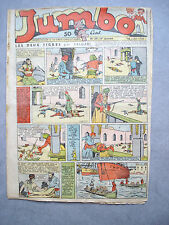 JUMBO /N°29 / 4EME ANNEE/ HEBDOMADAIRE /16-07-1938/ JIM ALASKA