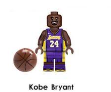 Lego Compatibile NBA Star Kobe Bryant Minifigure New