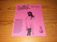 HALLO! WEA NR. 28 (1986) / PROMO-HEFT MIT PRINCE, MADONNA, ALPHAVILLE, TIMNA BRA