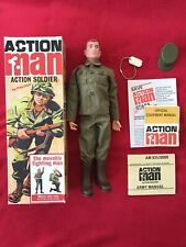 VINTAGE ACTION MAN 40TH ANNIVERSARY BOXED ACTION SOLDIER FIGURE COMPLETE Mint!!