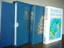 MAMLUK JERUSALEM par M.H. BURGOYNE 1982 -FOLIO EMBOITAGE PLANS -rare
