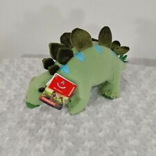 "AURORA STEGOSAURUS 12"" DINOSAUR PLUSH GREEN STUFFED ANIMAL New with tags"