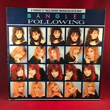 """THE BANGLES Following 1987 UK 3-track 12"""" Vinyl single EXCELLENT CONDITION"""