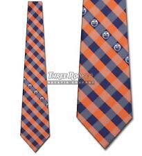Edmonton Oilers Tie Oilers Neckties Mens Licensed Hockey Neck Ties NWT