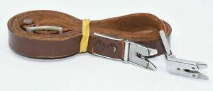 Rolleiflex TLR Original Tragriemen Leder braun