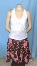 Awesome & Chic Intimissimi White Top Size Medium Career or Casual Slips On