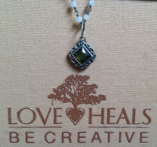 Love Heals Be Creative Prism Mirror Olive Charm NEW retails $45.00
