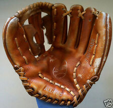 """Vintage All Pro 10"""" Right Leather Female Owned Baseball Glove Roxie Robinson"""