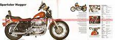 HARLEY DAVIDSON XLH 883 Sportster Hugger 1996 Fiche Moto 000514