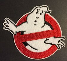 "Ghost Busters Iron/Sew on Embroidered Patch Applique Badge (3.0""X3.5"")"