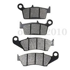Front + Rear Brake Pads For SUZUKI RM 125 250 RM125 RM250 DR-Z 400 DRZ400 DR 650