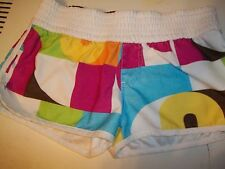 ROXY JUNIOR'S SIZE 3 MINI SHORTS MULTI-COLOR ELASTIC WAIST BOOTY SHORT SHORTS